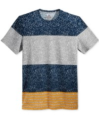 American Rag Men's Stripe T Shirt Only At Macy's Pale Waters