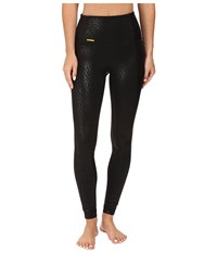 Lole Ivory Leggings Black Water Flow Women's Capri