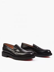 Paul Smith Black Leather Shipton' Loafers