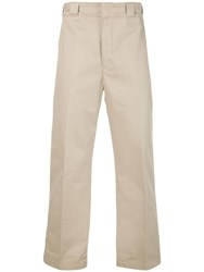 Adaptation Straight Cut Trousers Brown