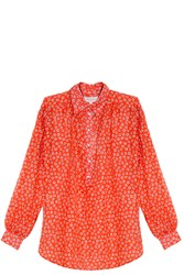 Paul And Joe Dor Voile Shirt Red