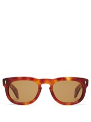 Jacques Marie Mage The Pepper Acetate Sunglasses Tortoiseshell