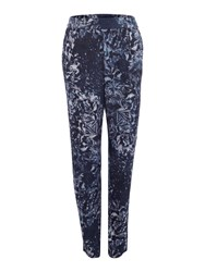 Label Lab Hannah Printed Trouser Multi Coloured