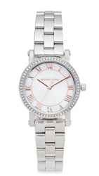 Michael Kors Petite Norie Watch Silver Rose Gold
