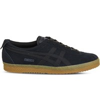 Onitsuka Tiger By Asics Mexico 66 Delegation Suede Trainers Black Gum
