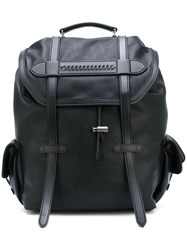 Stella Mccartney Falabella Backpack Men Polyester One Size Black