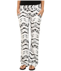 Hurley Venice Beach Pants White 2 Women's Casual Pants Multi