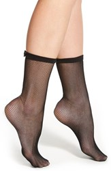 Women's Kate Spade New York Fishnet Trouser Socks Black