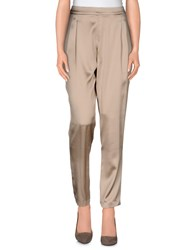 Liu Jo Trousers Casual Trousers Women Beige