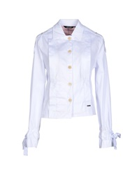 Amy Gee Jackets White