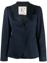 L'autre Chose One Button Fitted Blazer 60
