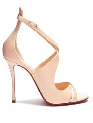 Christian Louboutin Malefissima 100Mm Patent Leather Pumps Light Pink