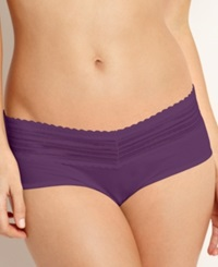 Warner's No Pinching No Problem Lace Hipster 5609J Purple Fig