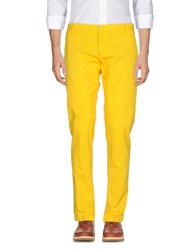 No Lab Casual Pants Yellow