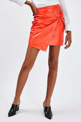Boutique Leather Ring Skirt By Tangerine
