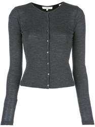 Vince Button Up Cardigan Grey