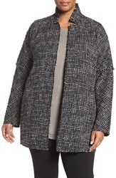 Nic Zoe Plus Size Women's Tweed Jacket