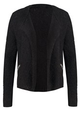 S.Oliver Denim Cardigan Black