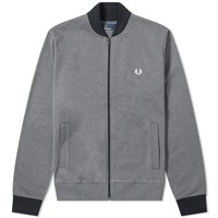 Fred Perry Authentic Bomber Track Jacket Grey