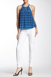Joie Mid Rise Skinny Jean White