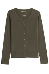 81 Hours By Dear Cashmere Cardigan Green