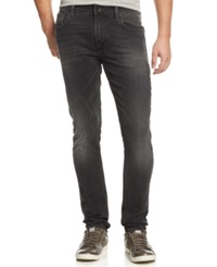 Guess Skinny Black Wash Jeans