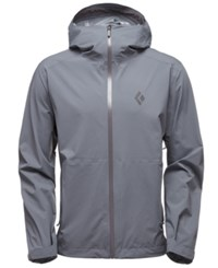 Black Diamond Stormline Stretch Rain Shell Jacket From Eastern Mountain Sports Ash
