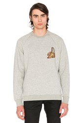 Clot X Sk8thing Banana Crewneck Gray