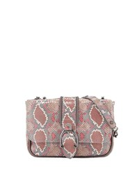 Longchamp Amazon Python Mini Crossbody Bag Blush