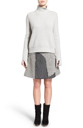 Women's Proenza Schouler Flare Sleeve Wool And Cashmere Turtleneck Sweater