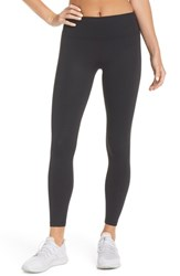 Splits59 Overtime Ankle Leggings Black Embossed