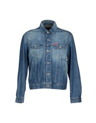 Cotton Belt Denim Denim Outerwear Men Blue