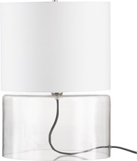 Cb2 Greyline Table Lamp