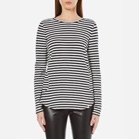 Boss Orange Women's Terstripe Long Sleeve Top Multi