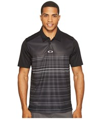 Oakley High Crest Polo Blackout Men's Clothing