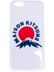 Maison Kitsune 'Mount Fuji' Iphone 6 Cover Case White