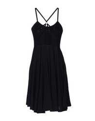 Surface To Air Knee Length Dresses Black