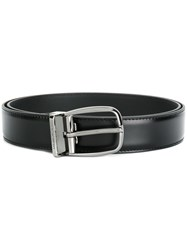 Dolce And Gabbana Buckled Belt Men Leather 85 Black
