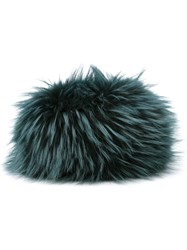Mr And Mrs Italy Fur Cossack Hat Green