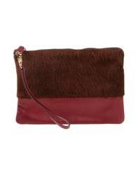 Space Style Concept Bags Handbags Women Brick Red