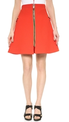 Preen Reversible Anata Skirt Red