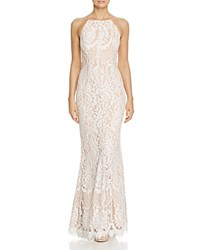 Jarlo Lace Fit And Flare Gown White