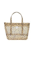Opening Ceremony Mesh Small Chinatown Tote Brown Multi