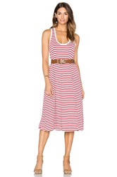 The Great Swing Tank Dress Red