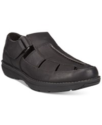Timberland Men's Barrett Fisherman Sandals Men's Shoes Black