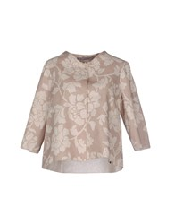 Rosamunda Suits And Jackets Blazers Women Camel
