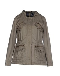 Pepe Jeans Coats And Jackets Jackets Women Military Green