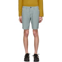 Paul Smith Ps By Blue Cotton Shorts