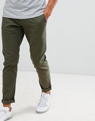 Produkt Slim Fit Chino Forest Night Green