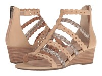 Rockport Total Motion 55Mm Wedge Gladiator Sandal Warm Taupe Women's Wedge Shoes Beige